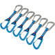 Ocun Hawk QD Wire PAD 16 express set 5+1 Pack blauw/zilver